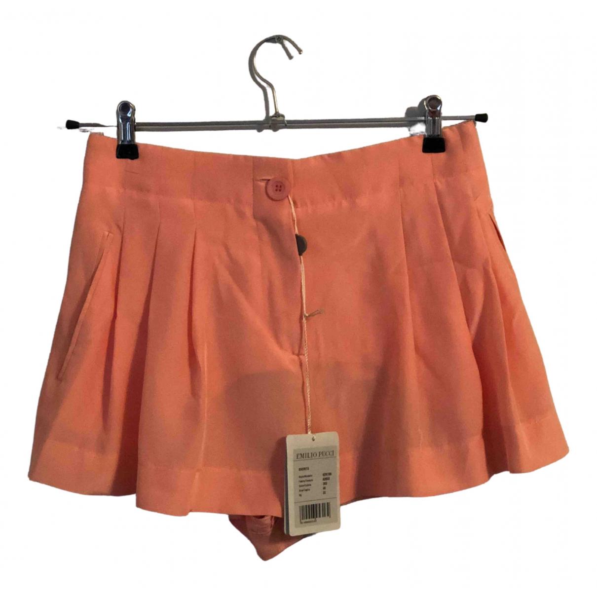 Emilio Pucci \N Shorts in  Rosa Seide