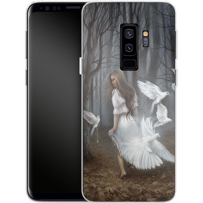 Samsung Galaxy S9 Plus Silikon Handyhuelle - Before You Leave von Dan May