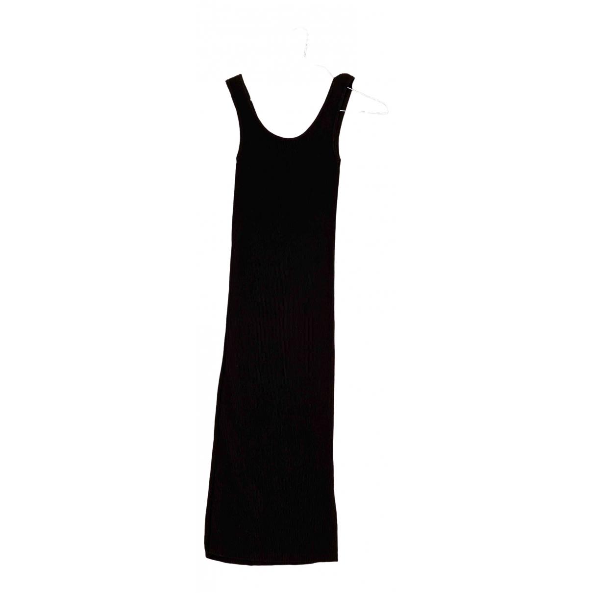 Set - Robe   pour femme en coton - elasthane - noir