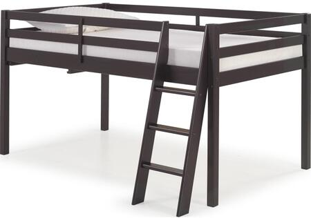 Roxy Collection AJRX10P0A Twin Wood Junior Loft Bed