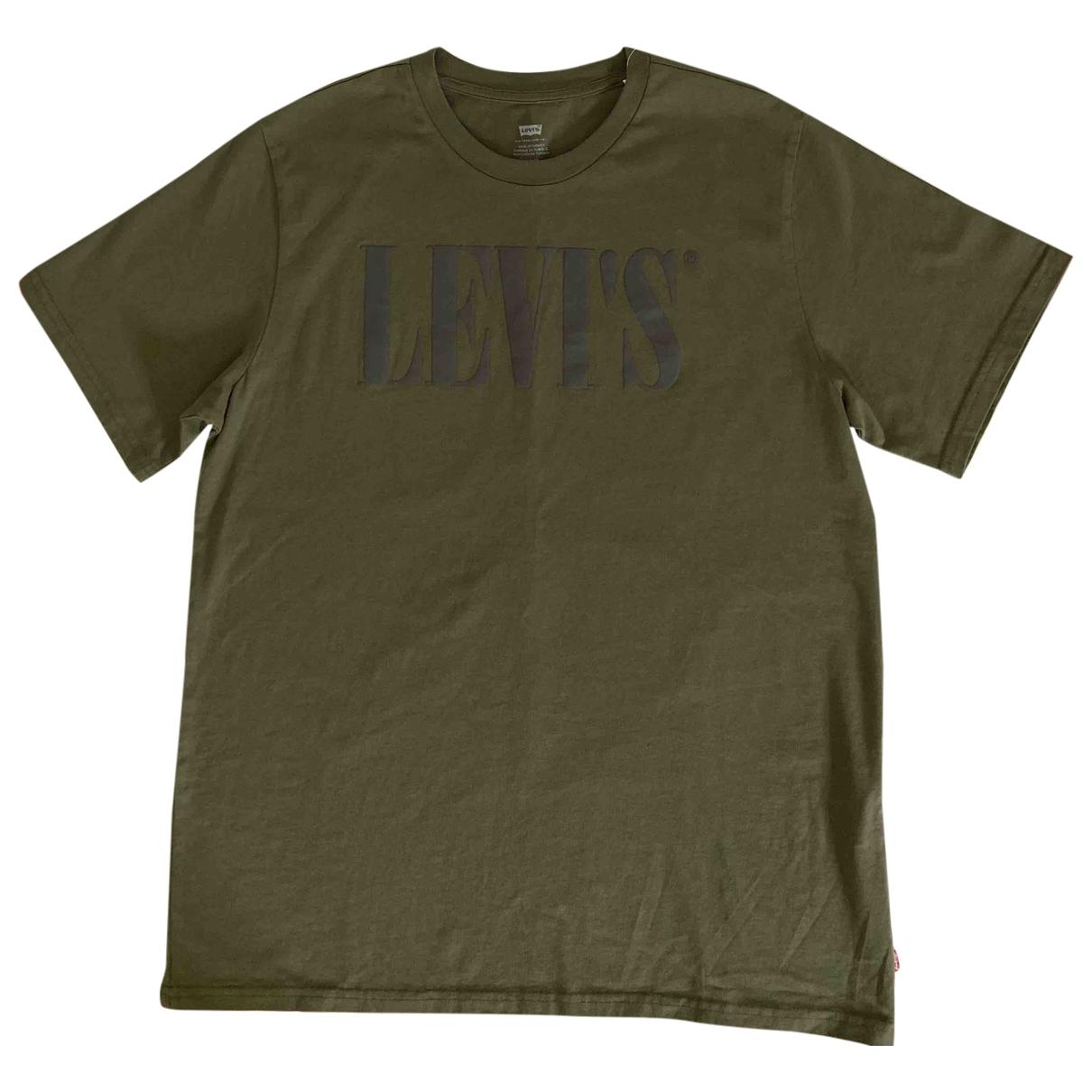 Levis - Tee shirts   pour homme en coton - kaki