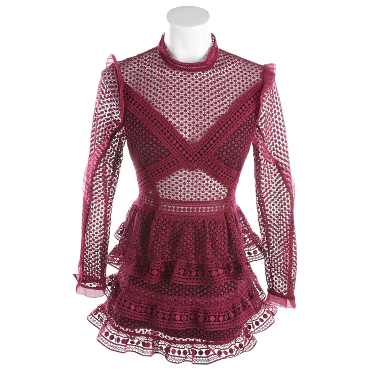 Self Portrait \N Pink dress for Women 36 FR