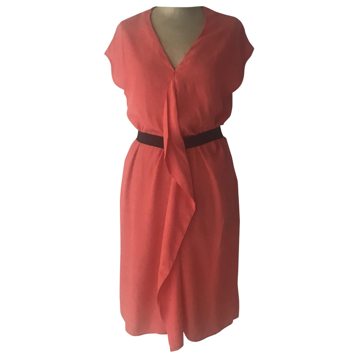 Comptoir Des Cotonniers \N Orange dress for Women 36 FR