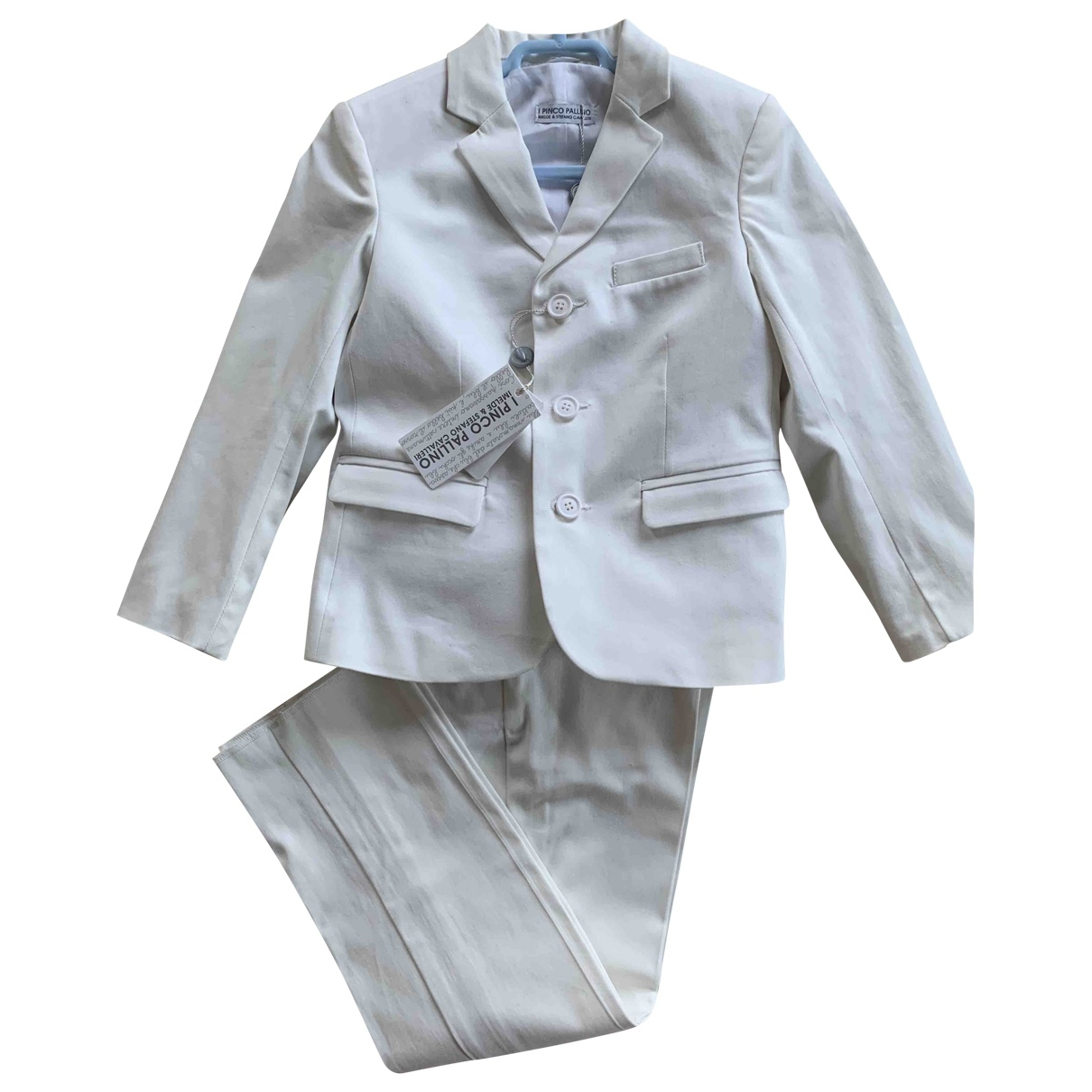 I Pinco Pallino \N White Cotton Outfits for Kids 4 years - up to 102cm FR