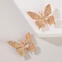 Butterfly Design Stud Earrings