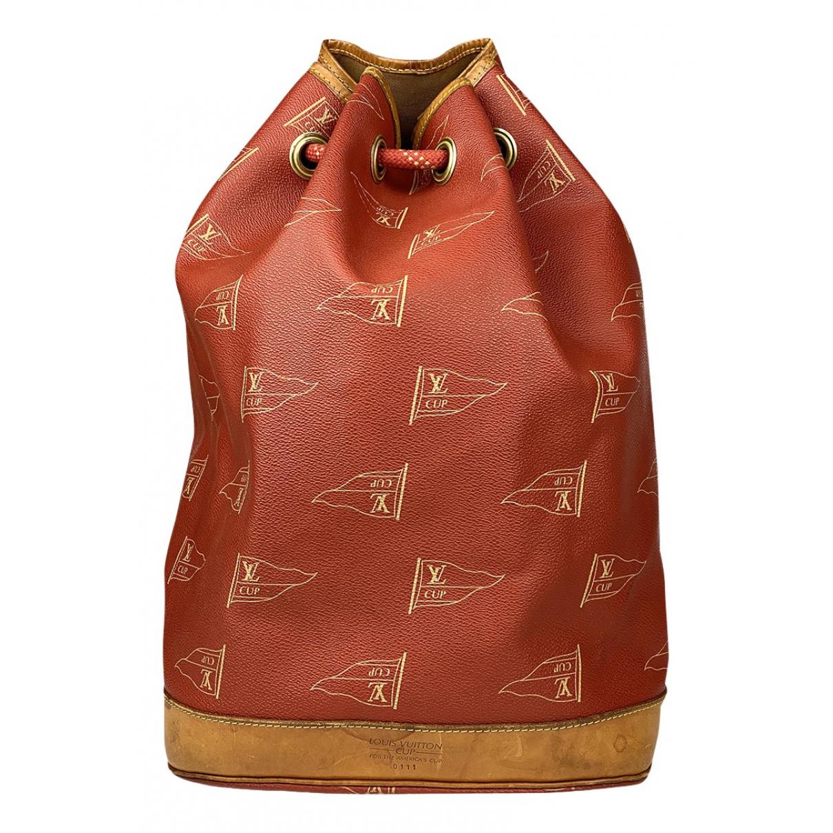Louis Vuitton - Sac a main   pour femme en toile - rouge