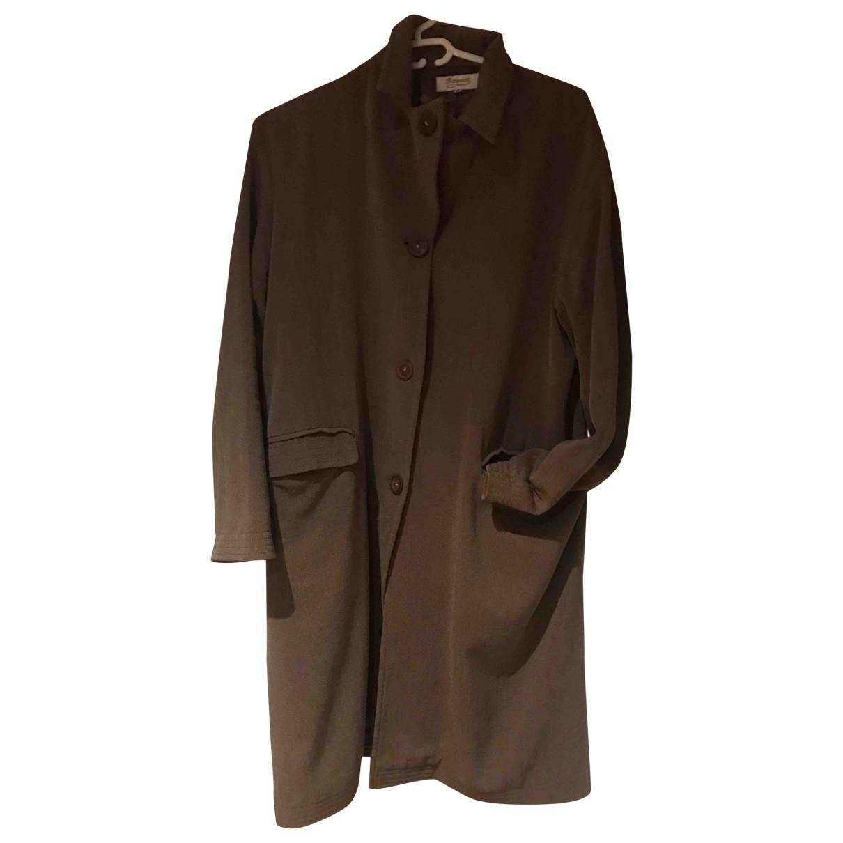 Bonpoint - Manteau   pour femme en laine - kaki