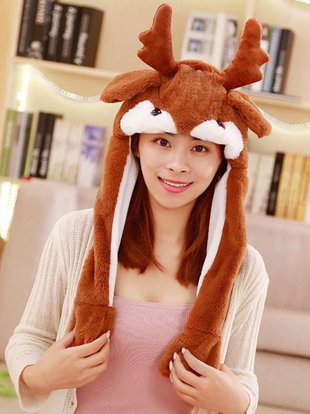 Milanoo Sombrero de Halloween ciervo en movimiento Sombrero del oido del conejo cosplay accesorios de vestuario