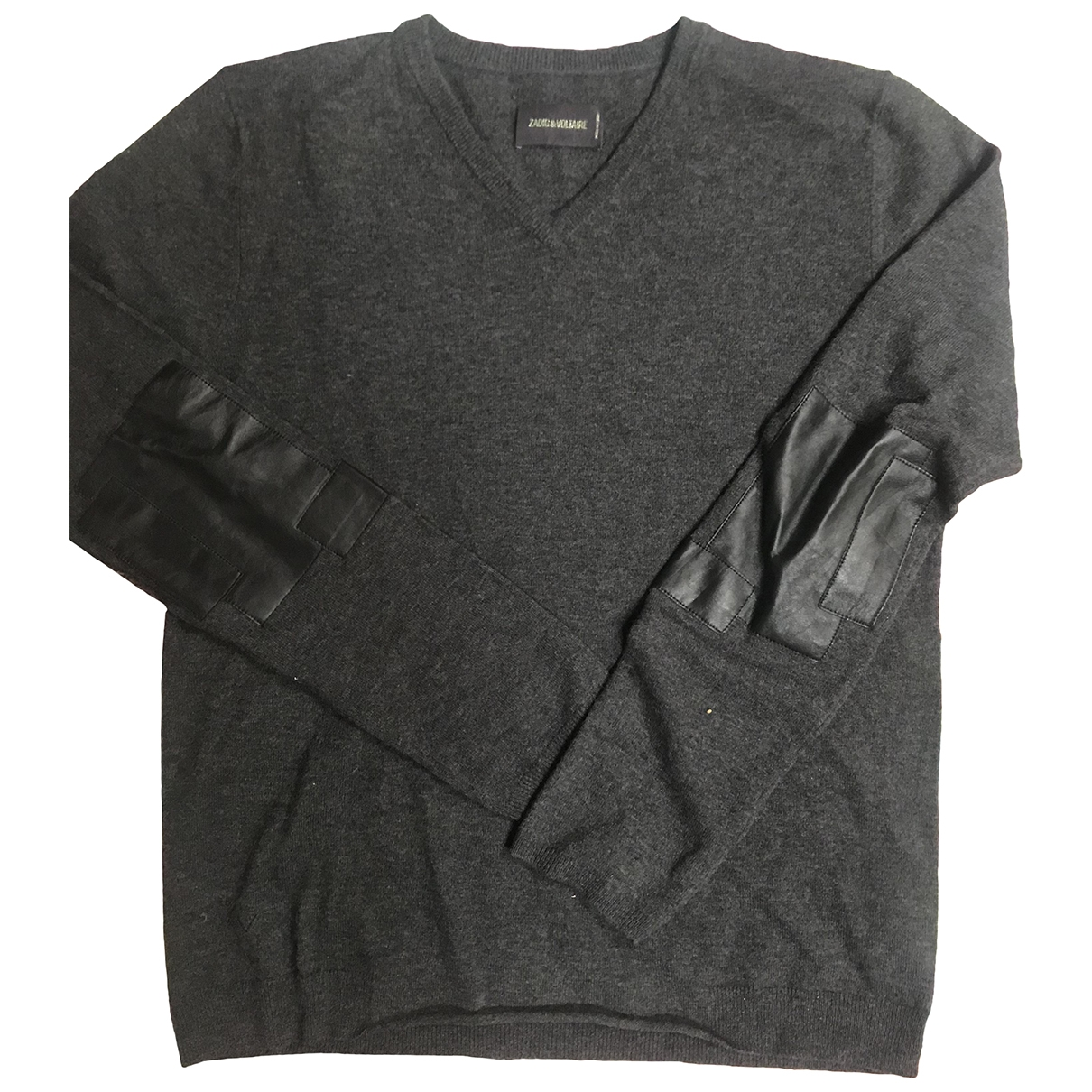 Zadig & Voltaire \N Pullover.Westen.Sweatshirts  in  Anthrazit Wolle