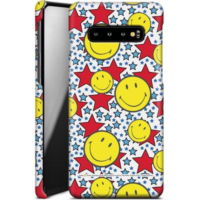 Samsung Galaxy S10 Plus Smartphone Huelle - Preppy Colors von Smiley®
