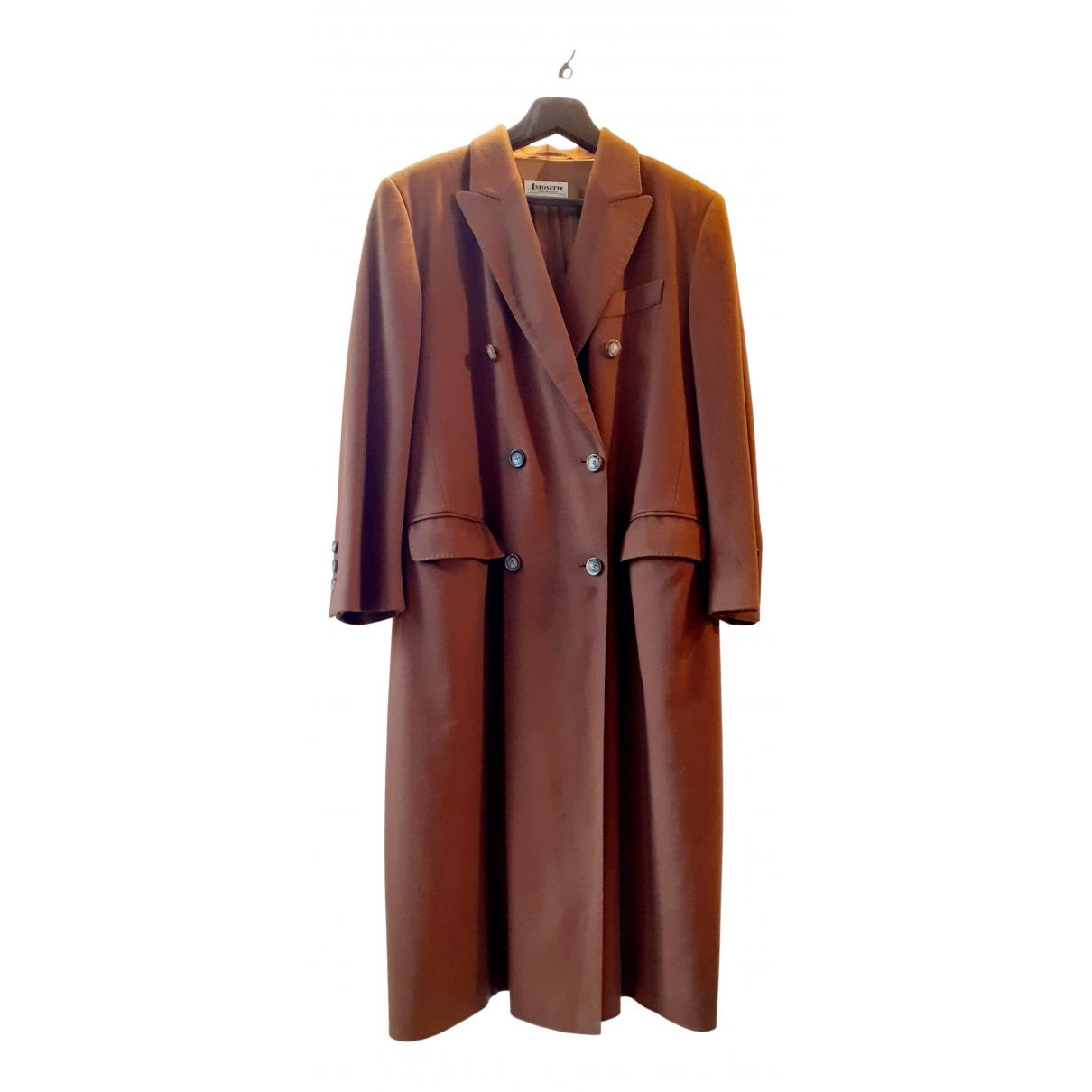Loro Piana N Brown Cashmere coat for Women XXL International
