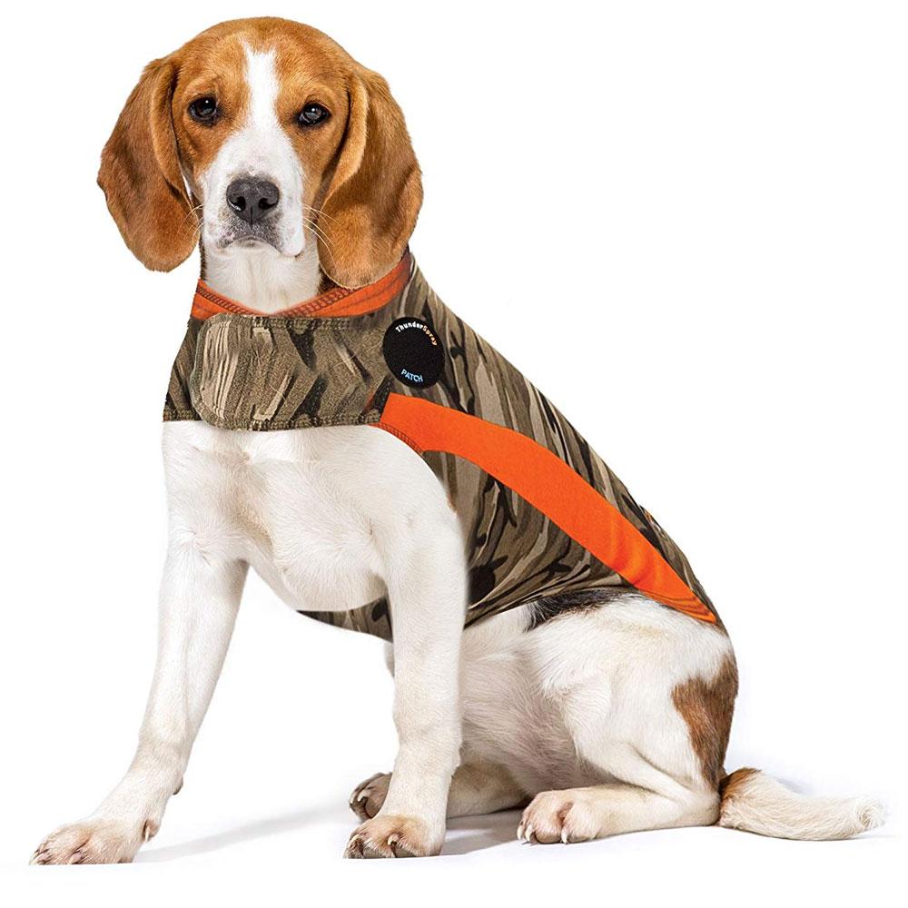 ThunderShirt Dog Anxiety Solution - Camo Polo (MEDIUM)