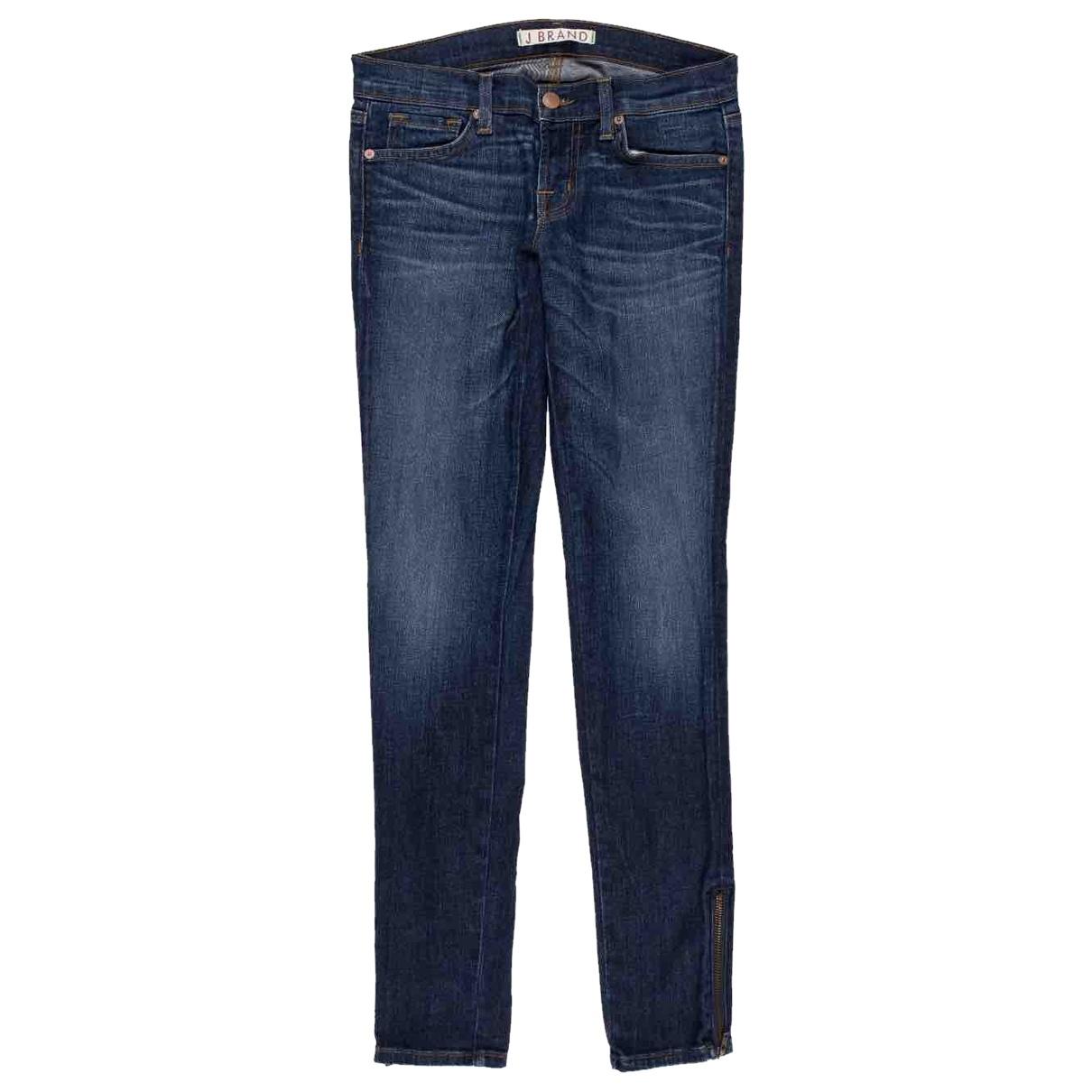 J Brand \N Blue Denim - Jeans Jeans for Women 25 US