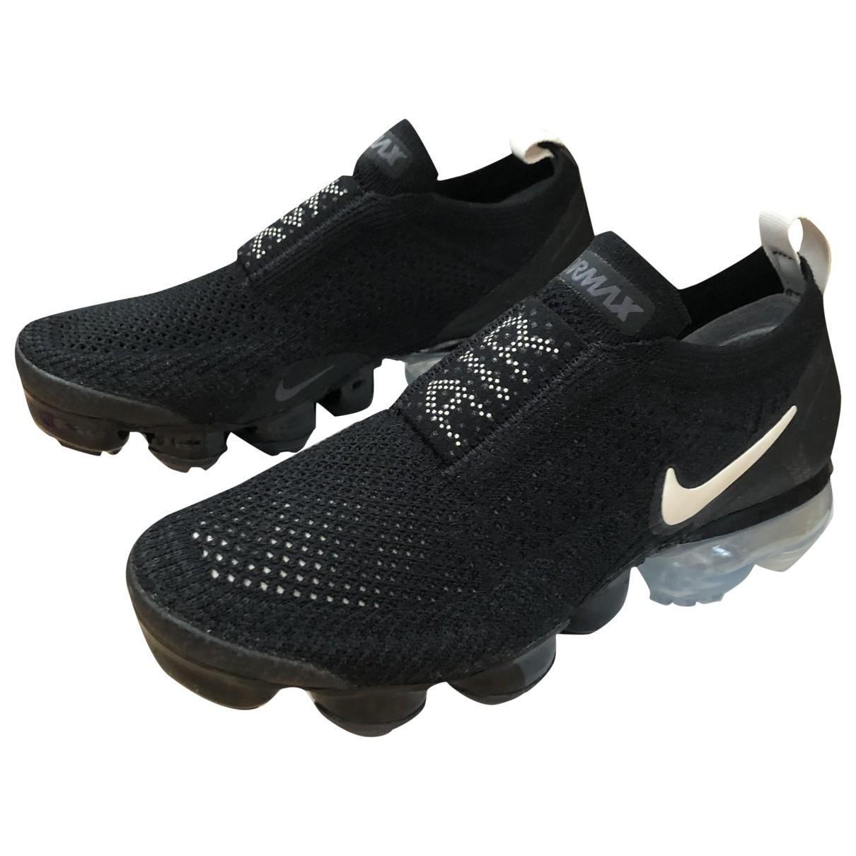 Nike VaporMax Plus Black Trainers for Kids 36 FR