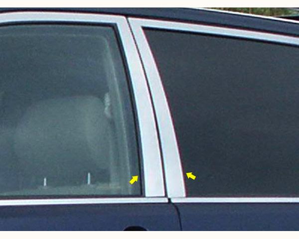 Quality Automotive Accessories 4-Piece Pillar Post Trim Kit Toyota Highlander 2005