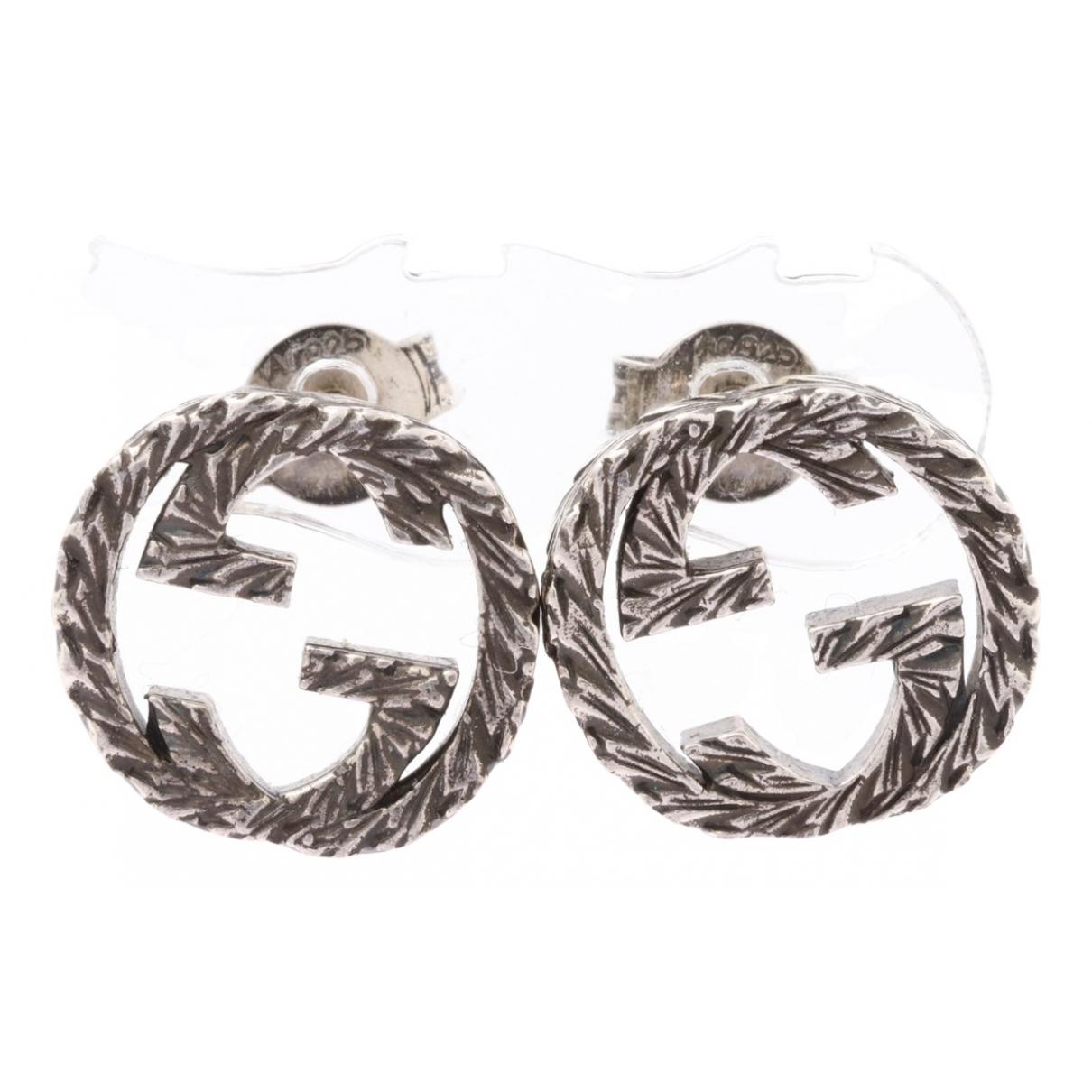 Gucci \N Silver Silver Earrings for Women \N