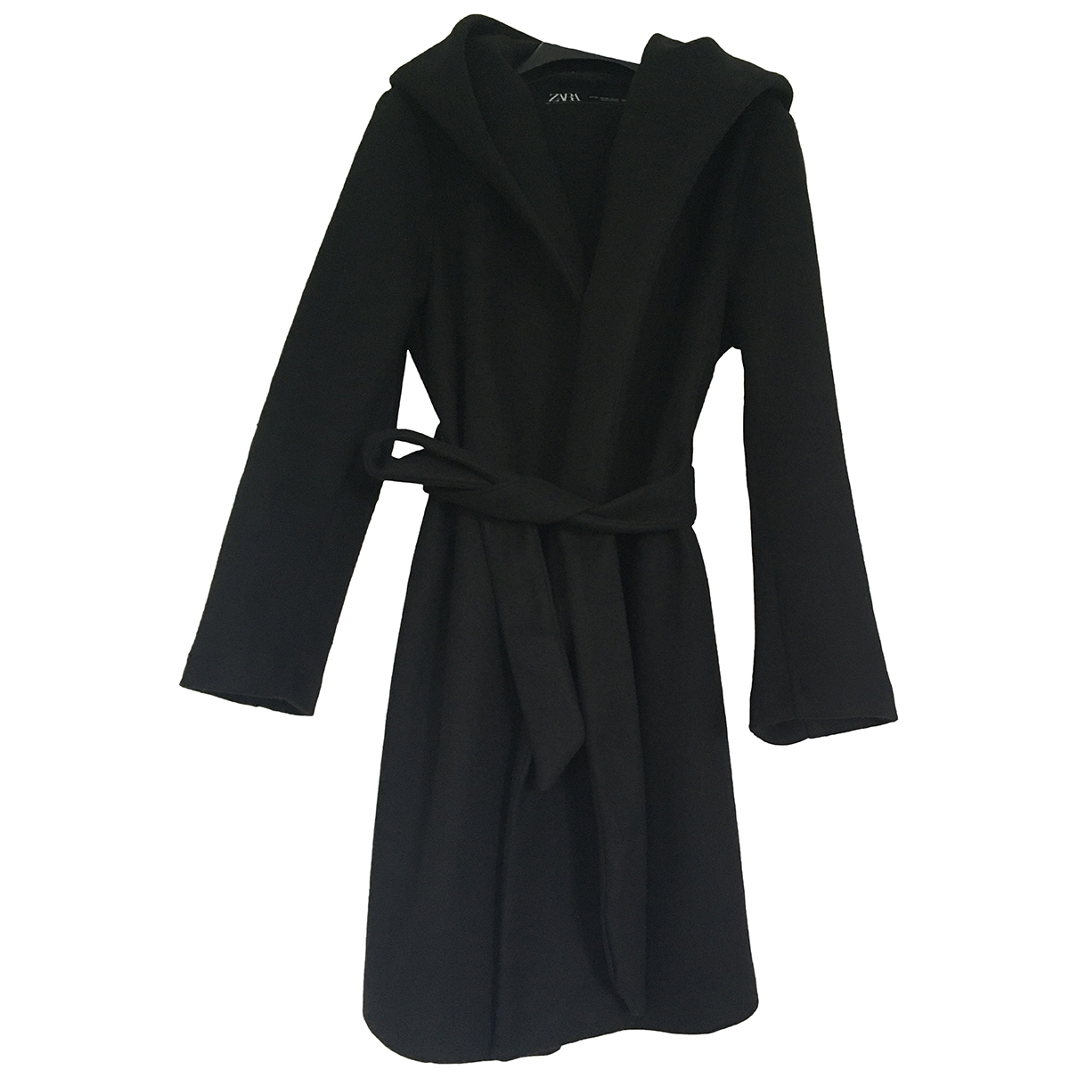 Zara \N Black coat for Women XS International