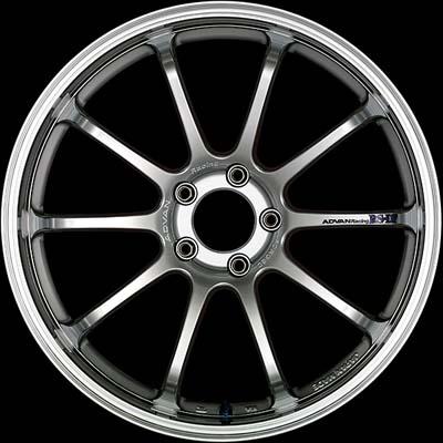 Advan RS-DF Wheel 19x10 5x120 22mm Machining & Racing Hyper Silver