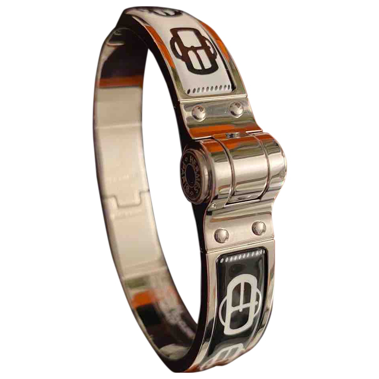 Hermes - Bracelet Bracelet Charniere pour femme en metal