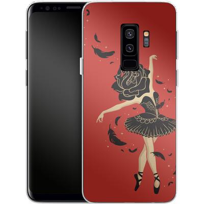 Samsung Galaxy S9 Plus Silikon Handyhuelle - Black Swan von Enkel Dika