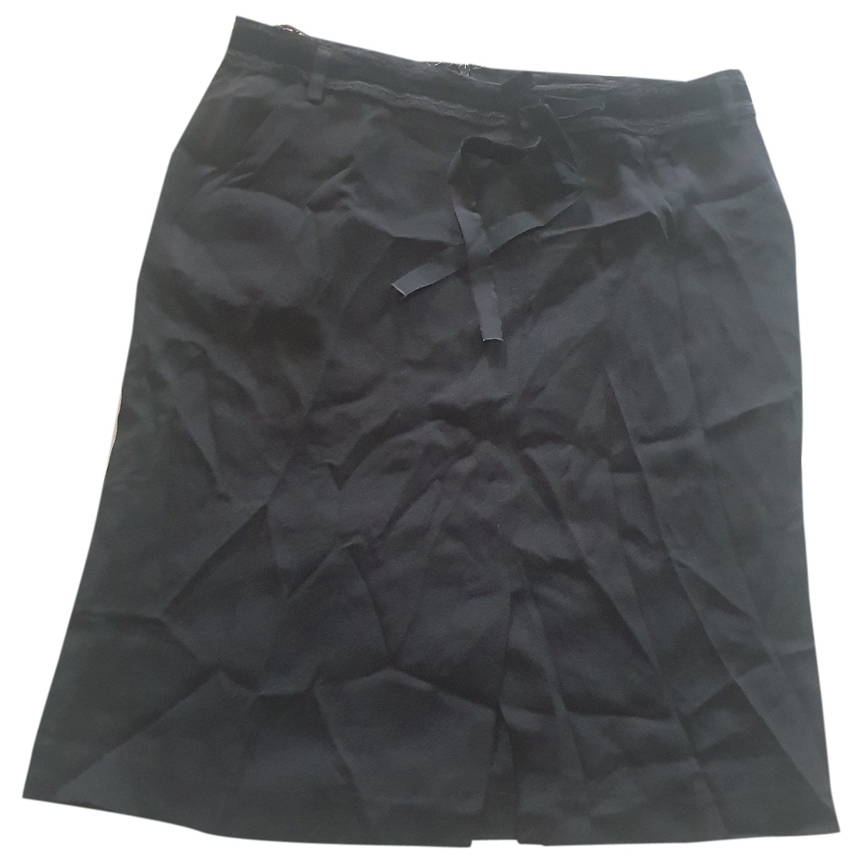 D&g \N Rocke in  Schwarz Polyester