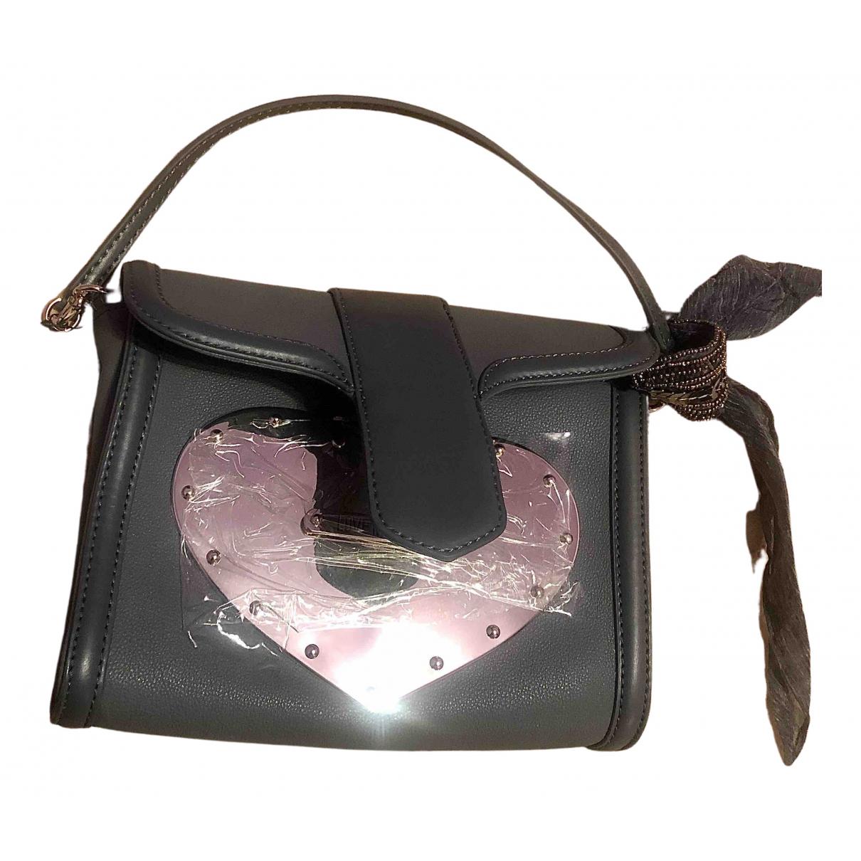 Moschino Love \N Handtasche in  Blau Leder