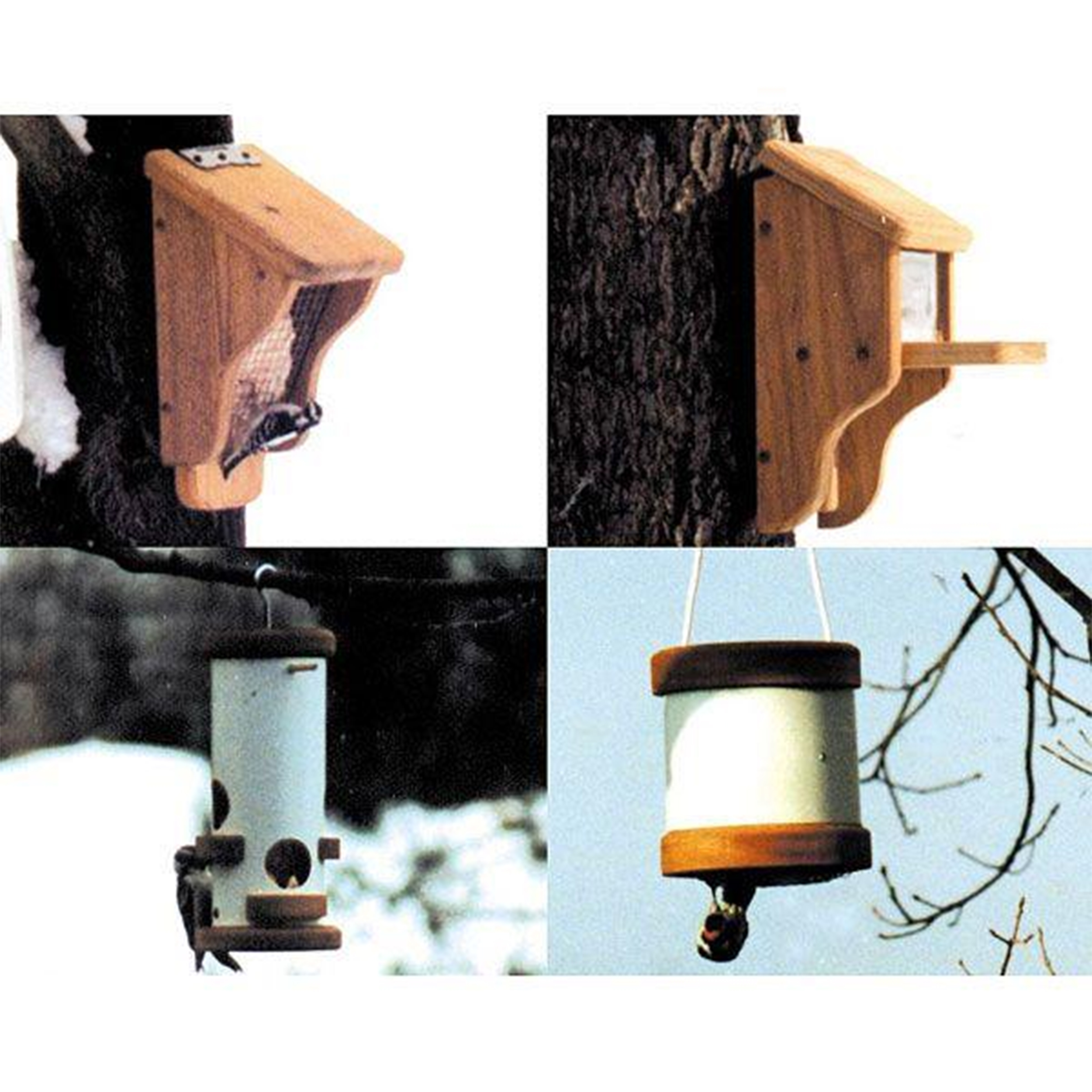 Woodworking Project Paper Plan to Build Suet and Squirrel Feeders