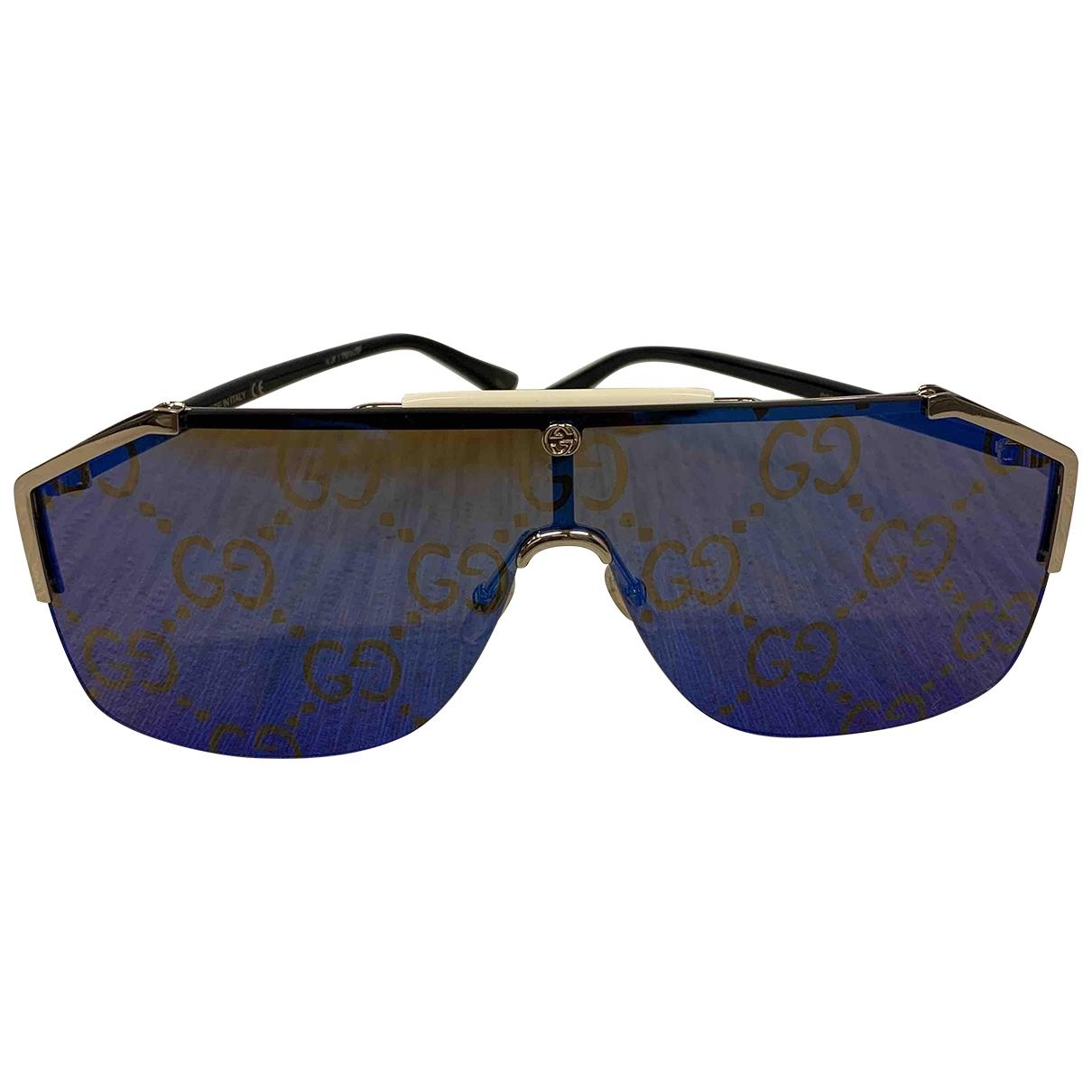 Gucci \N Blue Metal Sunglasses for Women \N