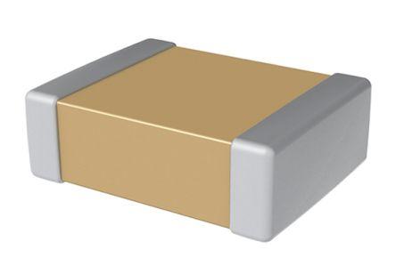 KEMET 0603 (1608M) 10nF Multilayer Ceramic Capacitor MLCC 25V dc ±5% SMD C0603X103J3JACAUTO (4000)