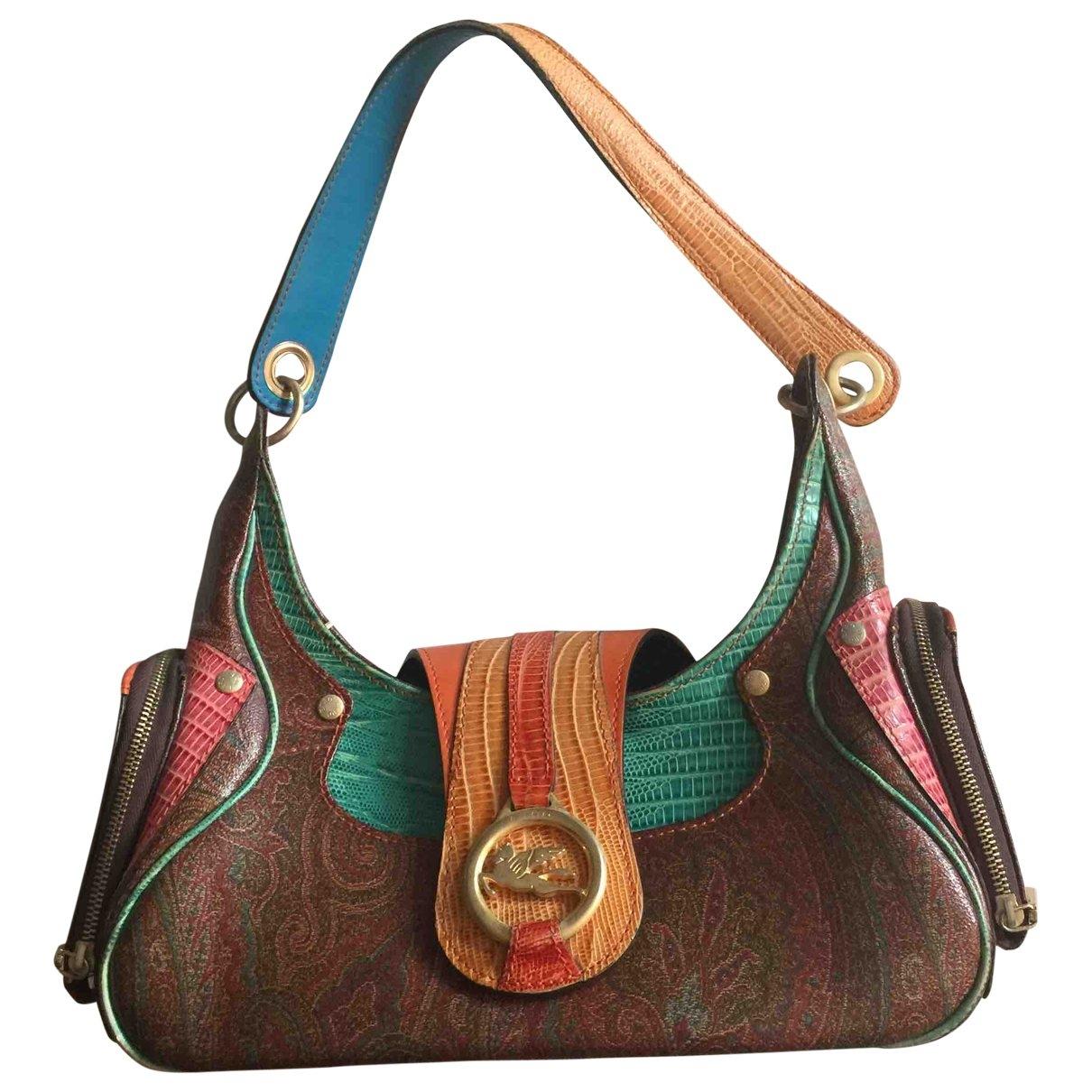 Etro \N Multicolour Leather handbag for Women \N