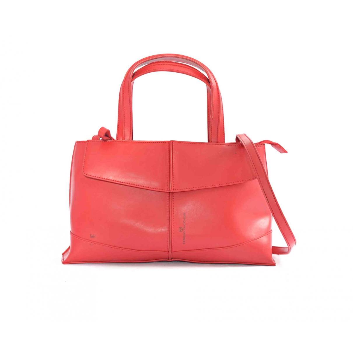 Sergio Tacchini \N Handtasche in  Rot Leder