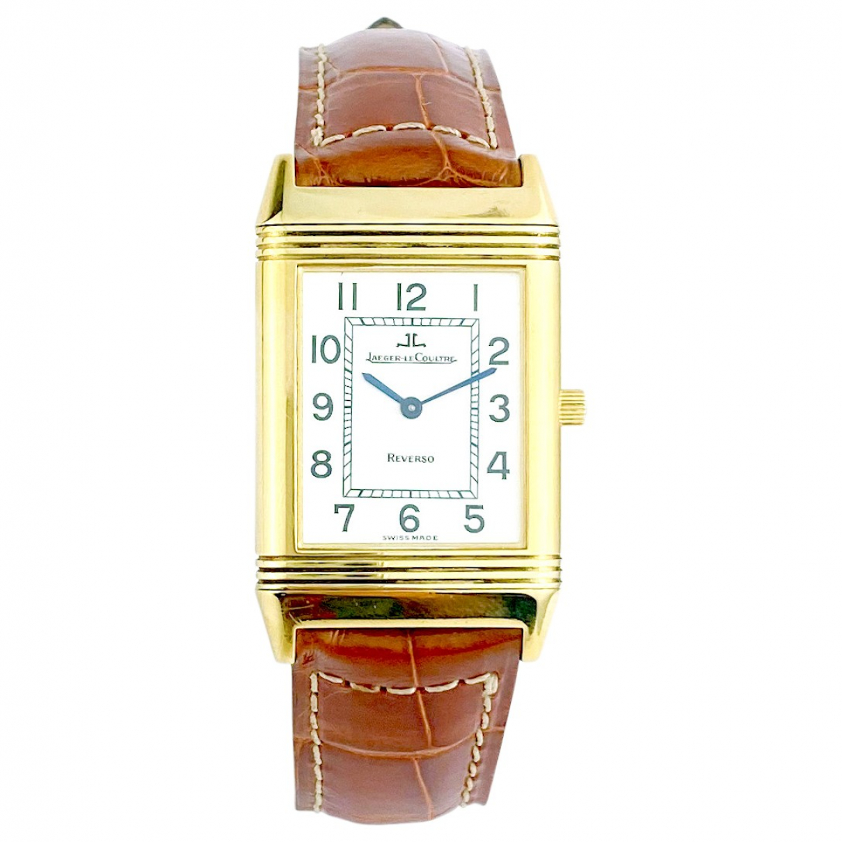 Jaeger-lecoultre Reverso Gold Yellow gold watch for Men \N