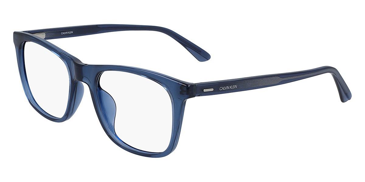 Calvin Klein CK20526 405 Men's Glasses Blue Size 51 - Free Lenses - HSA/FSA Insurance - Blue Light Block Available