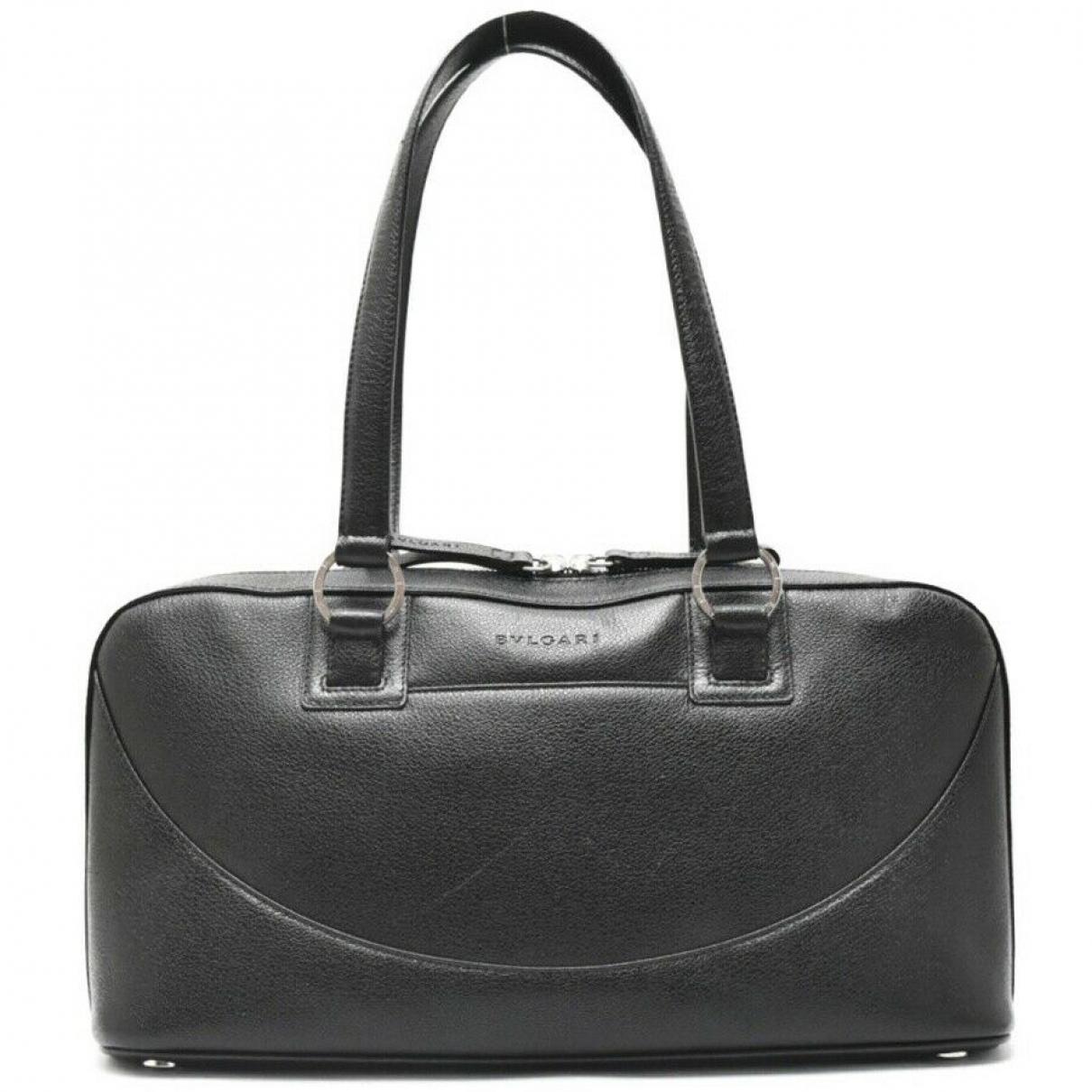 Bvlgari N Leather Travel bag for Women N