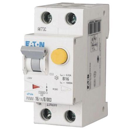 Eaton 1 + N 25 A Instantaneous RCD, Trip Sensitivity 30mA