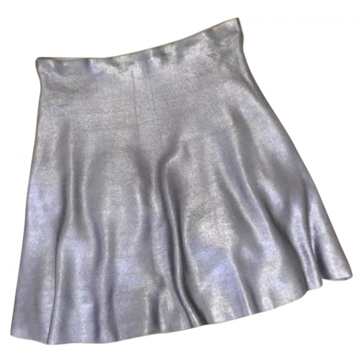 Zara \N Metallic skirt for Women M International
