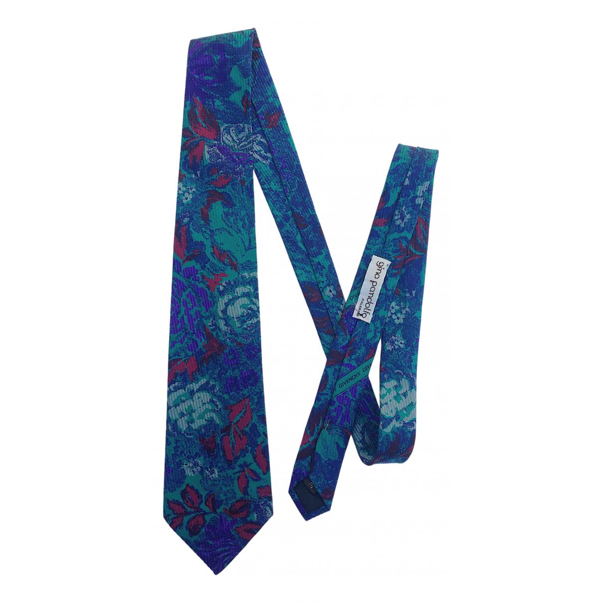 Givenchy - Cravates   pour homme en soie - multicolore