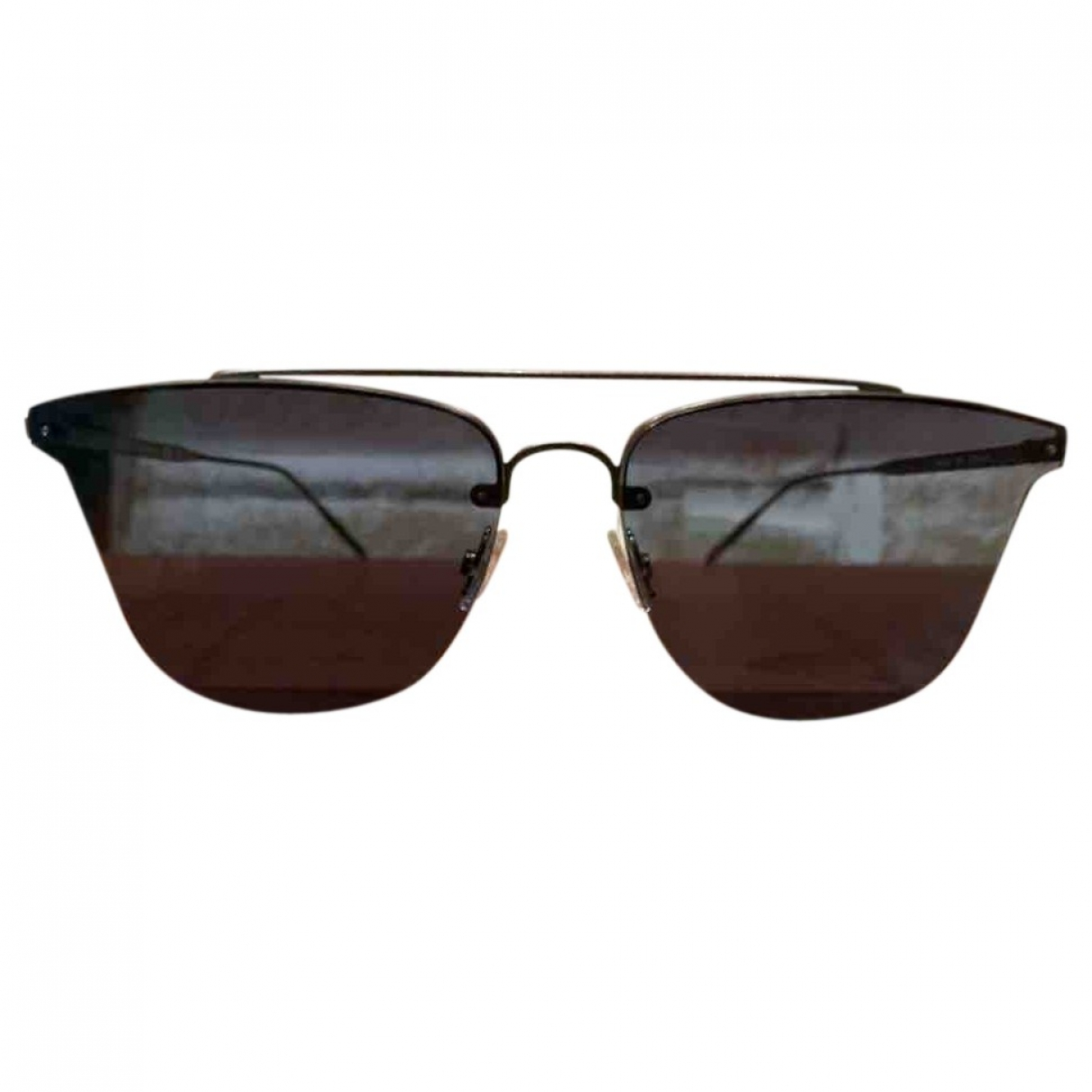 Tomas Maier \N Metallic Metal Sunglasses for Women \N