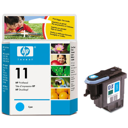 HP 11 C4811A tête dimpression originale cyan