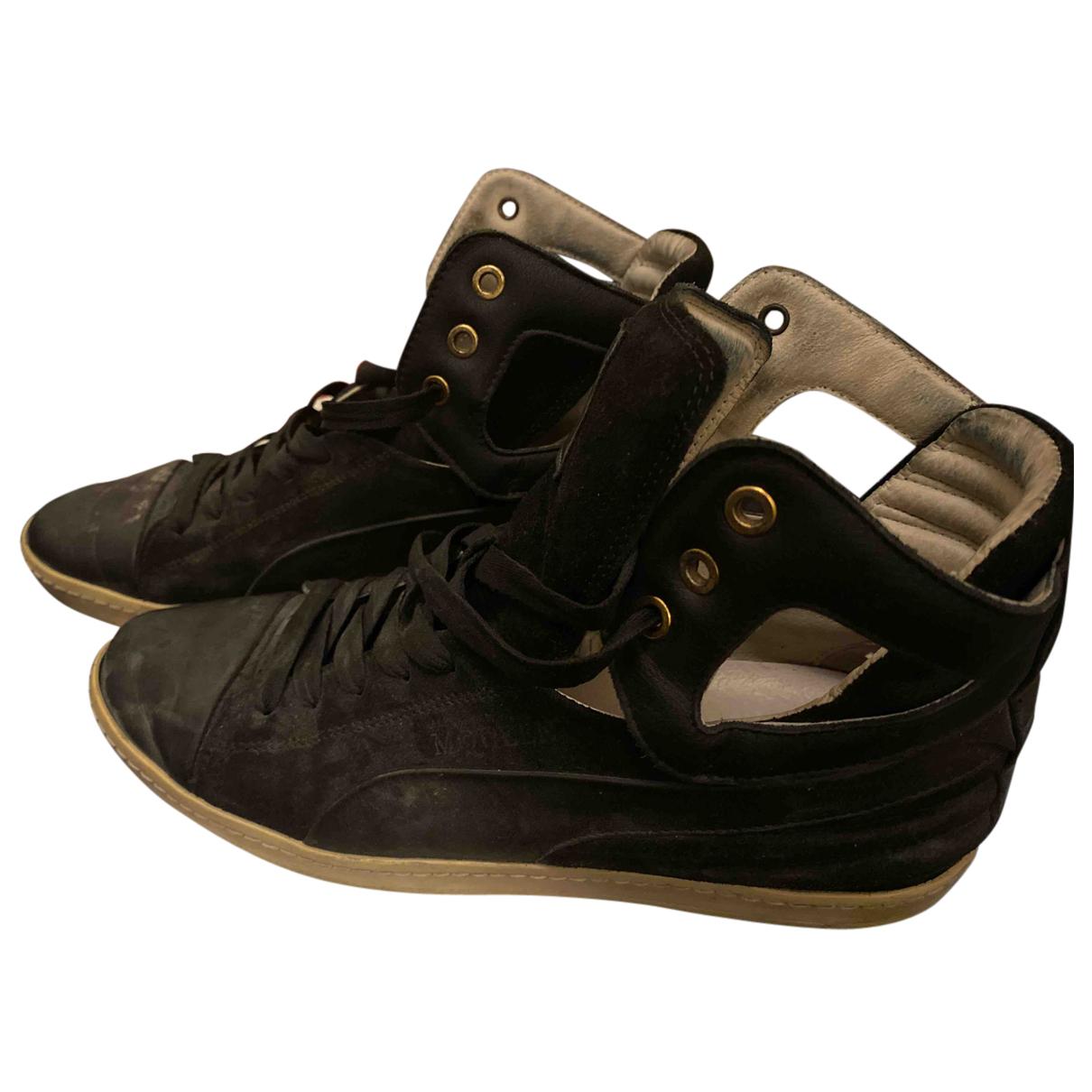 Alexander Mcqueen For Puma \N Sneakers in  Schwarz Leder