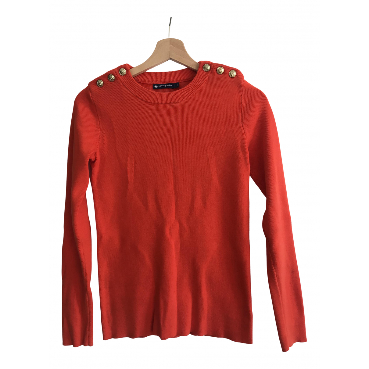 Petit Bateau N Orange Cotton Knitwear for Women XXS International