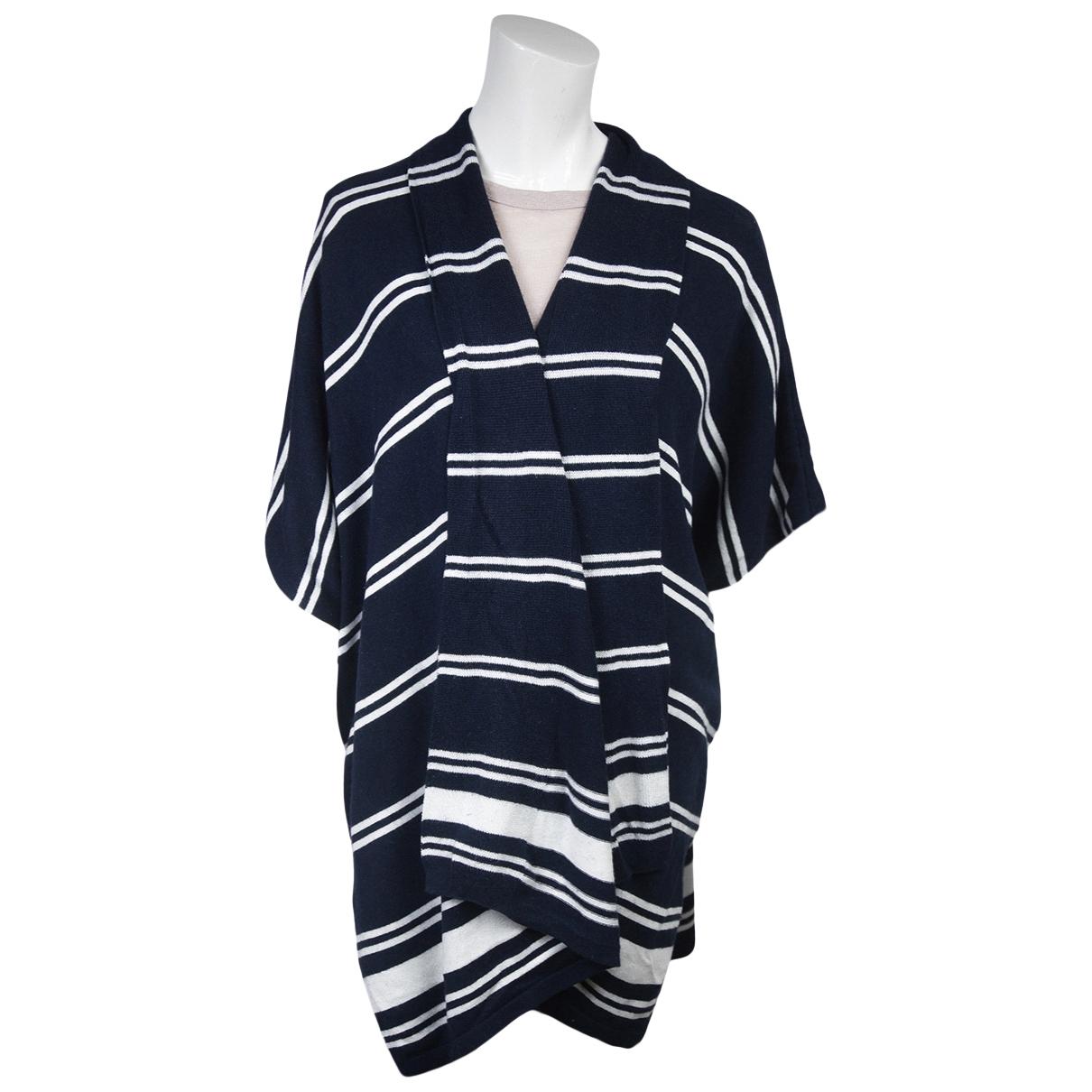 Lauren Ralph Lauren N Navy Silk Knitwear for Women L International