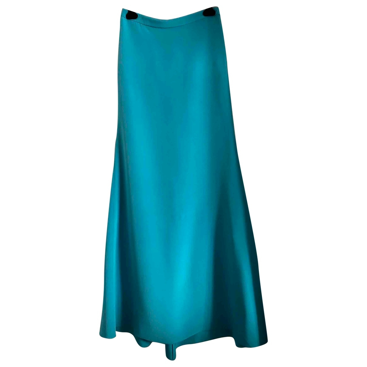 Emilio Pucci \N Turquoise Silk skirt for Women 40 IT