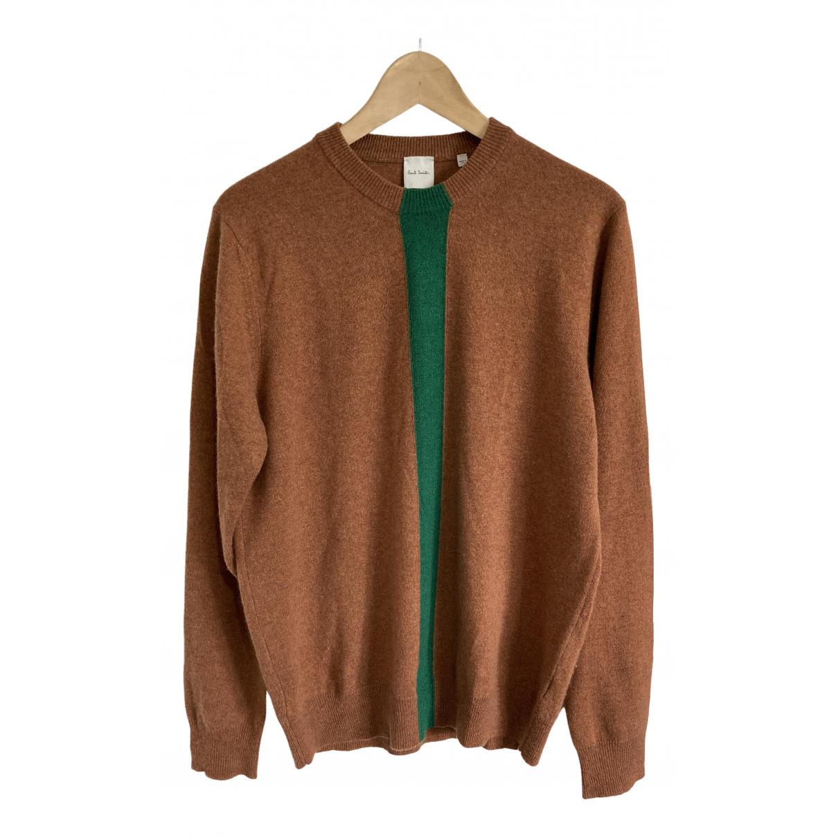 Paul Smith \N Pullover.Westen.Sweatshirts  in  Braun Kaschmir