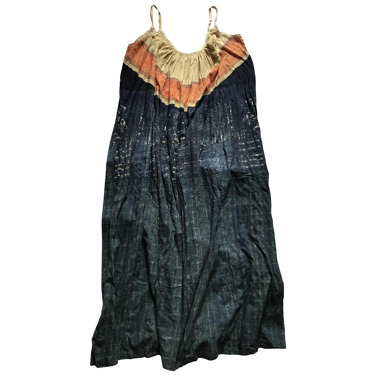 Mes Demoiselles ... - Robe   pour femme en coton - marine