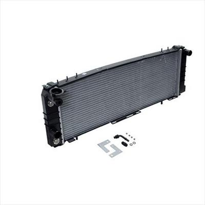 Omix-ADA Replacement Single Core Radiator for 4.0L 6 Cylinder Engine with Automatic Transmission - 17101.21