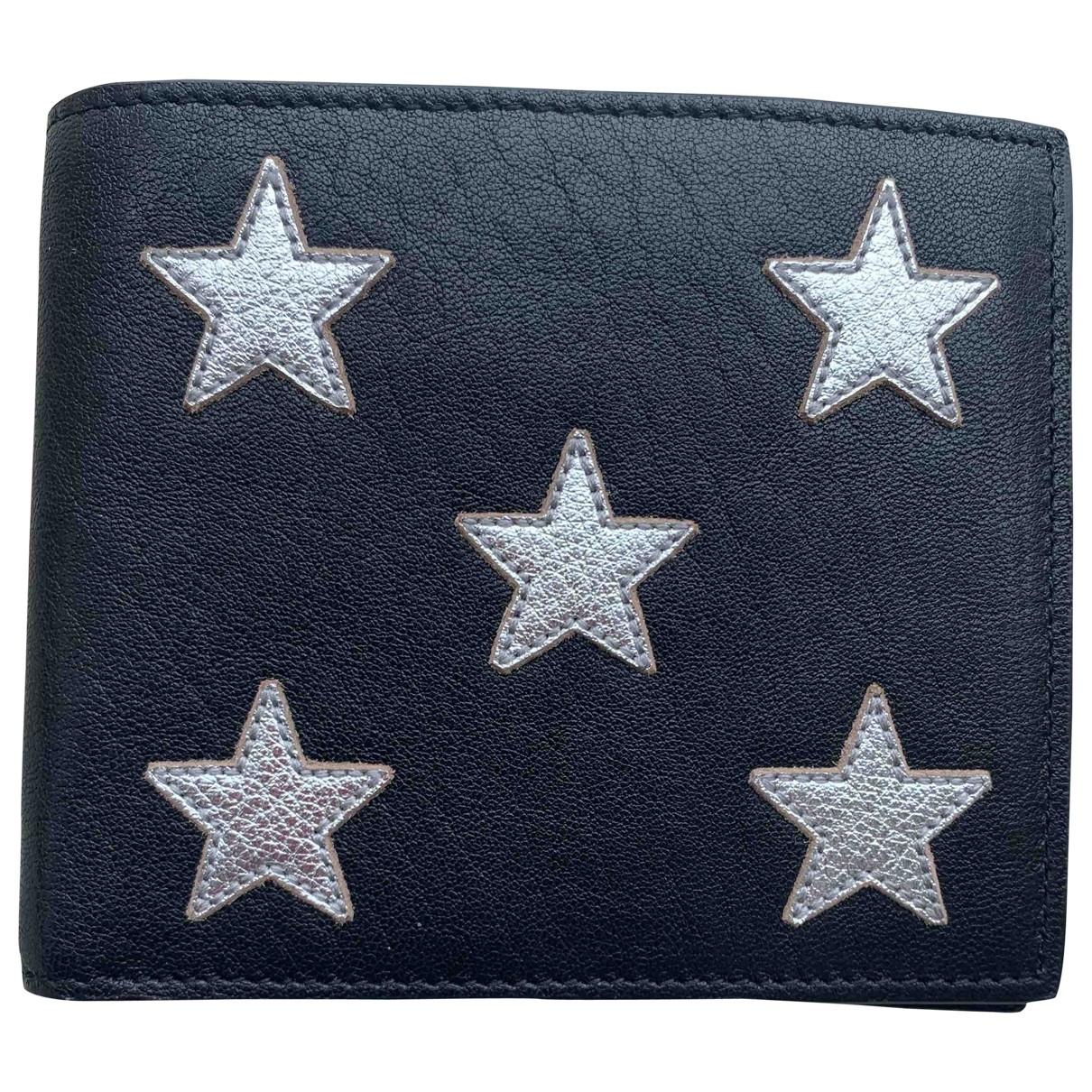 Saint Laurent \N Black Leather wallet for Women \N