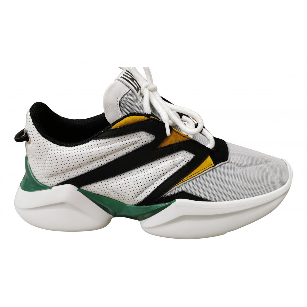 Les Hommes \N Sneakers in  Grau Kautschuk