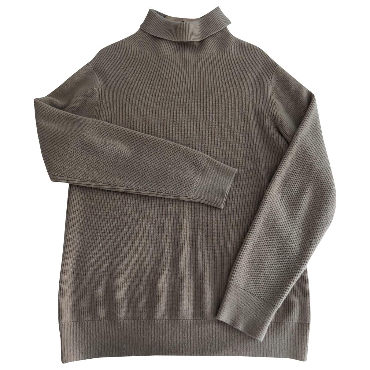 Sandro \N Pullover.Westen.Sweatshirts  in  Beige Wolle