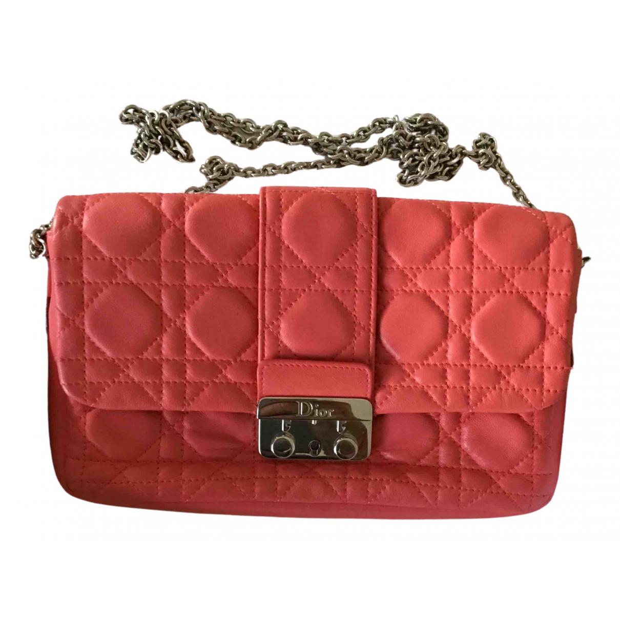 Dior Miss Dior Handtasche in  Rosa Leder